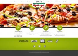 сайт на Пицария РОМА